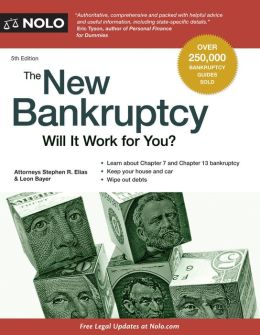 New Bankruptcy,The: Will It Work for You?