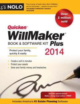 Quicken WillMaker Plus 2014 Edition: Book & Software Kit