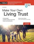 Book Cover Image. Title: Make Your Own Living Trust, Author: Denis Clifford Attorney