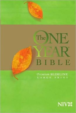 The One Year Bible Premium Slimline LP NIV