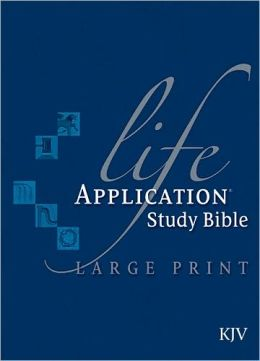 Life Application Study Bible KJV, Large Print
