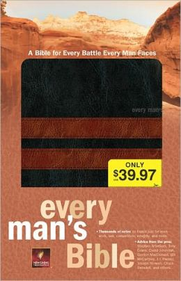Every Man's Bible NLT, TuTone