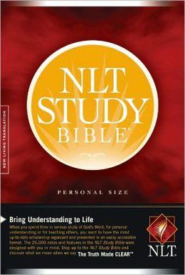 NLT Study Bible, Personal Size