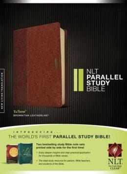 NLT Parallel Study Bible: TuTone