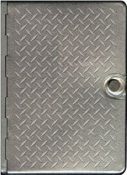 Metal Bible NLT: Metal Diamond Plate