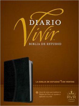 Biblia de estudio Diario vivir RVR60 SentiPiel DuoTono