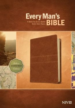 Every Man's Bible NIV: Deluxe Journeyman Edition
