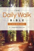 Book Cover Image. Title: The Daily Walk Bible NLT:  31 Days with Jesus, Author: Walk Thru the Bible