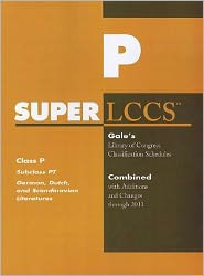 SUPERLCCS: Subclass PT: German literature