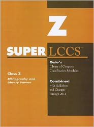 SUPERLCCS: Class Z: Biblography, Library Science, Information Resources (General)
