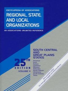 Encyclopedia of Associations: Regional, State and Local Organizations