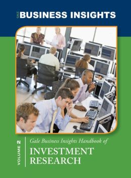 Gale Business Insights Handbooks of Investment Research
