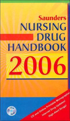 Saunders Nursing Drug Handbook 2006