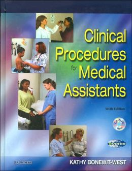 Clinical Procedures for Medical Assistants - Text with Intravenous Therapy and HIPAA Guide