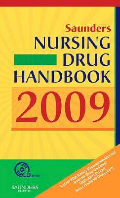 Saunders Nursing Drug Handbook 2009