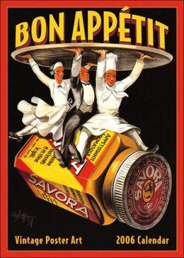 2006 Bon Appetit Wall Calendar