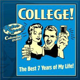 2007 College! Wall Calendar