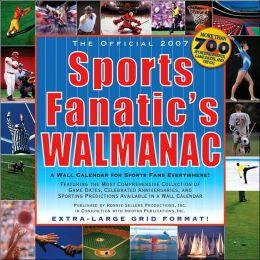 2007 Sports Fanatics Walmanac Wall Calendar