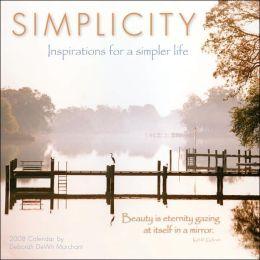 Simplicity 2008 Calendar