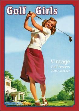 2008 Golf Girls Wall Calendar