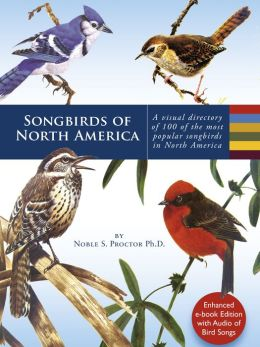 Songbirds of North America: A visual directory of 99 of the most popular songbirds in North America