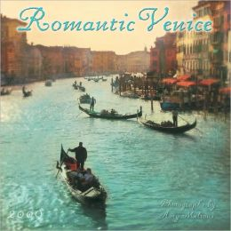 2009 Romantic Venice Wall Calendar