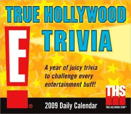 2009 E! True Hollywood Trivia Box Calendar