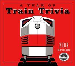 2009 Train Trivia Box Calendar