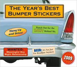 2009 Year's Best Bumper Stickers Box Calendar