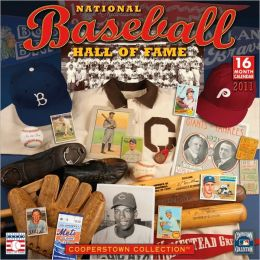 2011 Baseball Hall Of Fame Wall Calendar
