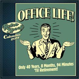 2011 Office Life Wall Calendar
