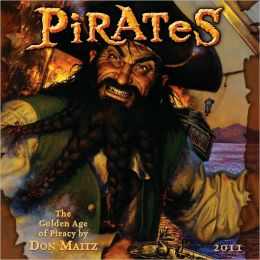 2011 Pirates By Don Maitz Wall Calendar