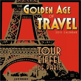 2011 Golden Age Of Travel Wall Calendar