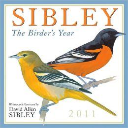 2011 Sibley: The Birders Year Wall Calendar
