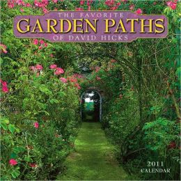 2011 Favorite Garden Paths Of David Hicks Wall Calendar