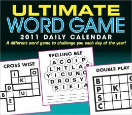 2011 Ultimate Word Game Box Calendar