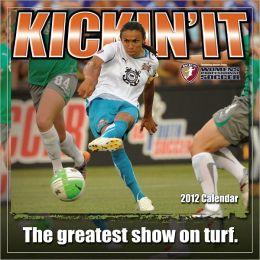2012 Kickin It: Women's Soccer Wall Calendar