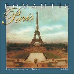 2012 Romantic Paris Wall Calendar