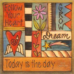 2012 Follow Your Heart Wall Calendar