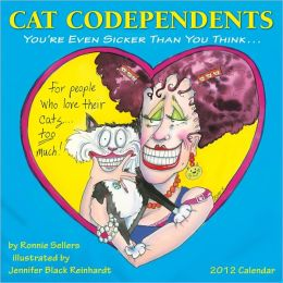 2012 Cat Codependents Wall Calendar