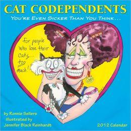 2012 Cat Codependents Wall Calendar