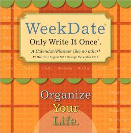 2012 WeekDate Planner Wall Calendar