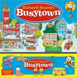 2012 Busytown by Richard Scarry Planner Wall Calendar