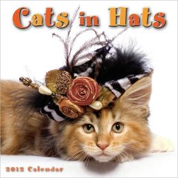 2012 Cats in Hats Mini Wall Calendar