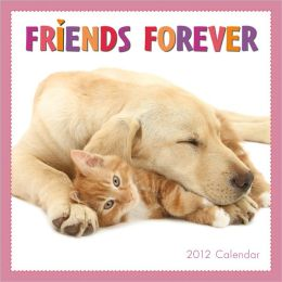2012 Friends Forever Mini Wall Calendar