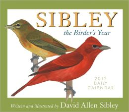 2012 Sibley the Birder's Year Box Calendar
