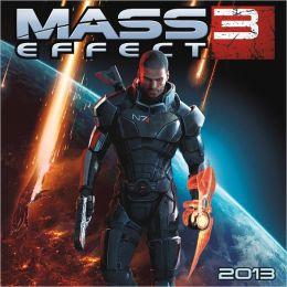 2013 Mass Effect Wall Calendar