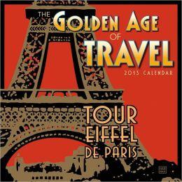 2013 Golden Age of Travel Mini Wall Calendar