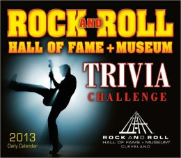 2013 Rock and Roll Hall of Fame Trivia Challenge Box/Daily Calendar