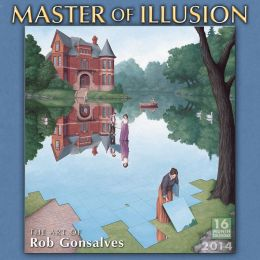 2014 Master of Illusion Wall Calendar